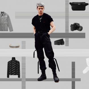 """ELLE Man Style Calendar: """"Chất chơi"""" với kiểu quần túi hộp"""
