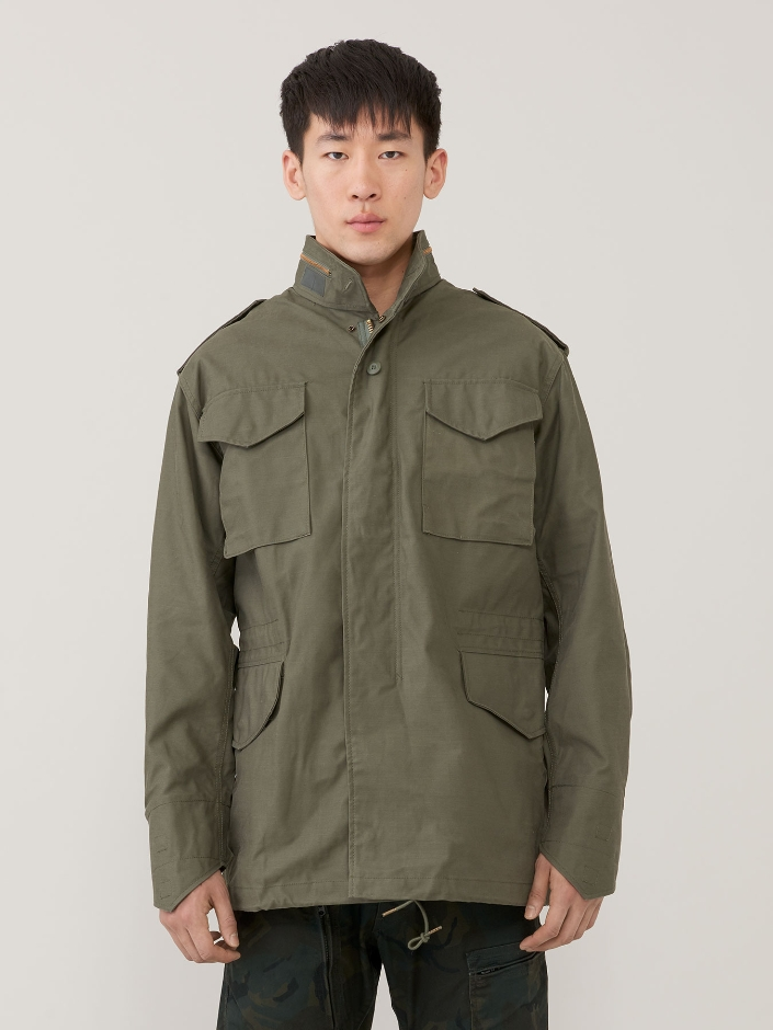 ao khoac nam - ao field coat Alpha Industries - elle man