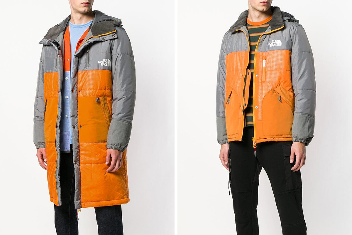 ao khoac nam - ao parka Junya Watanabe x The North Face padded jacket - elle man