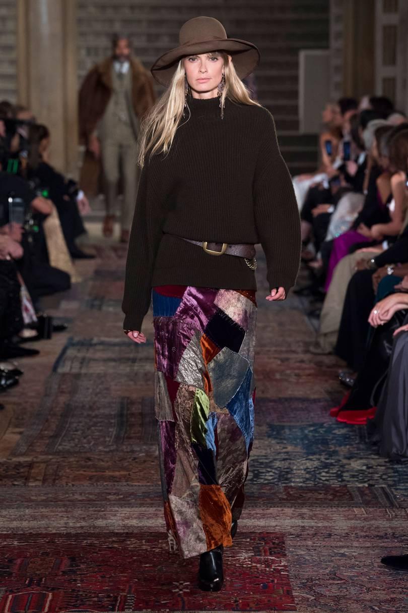 Bộ sưu tập Xuân-Hè 2019 của thương hiệu Ralph Lauren. Ảnh: Vogue