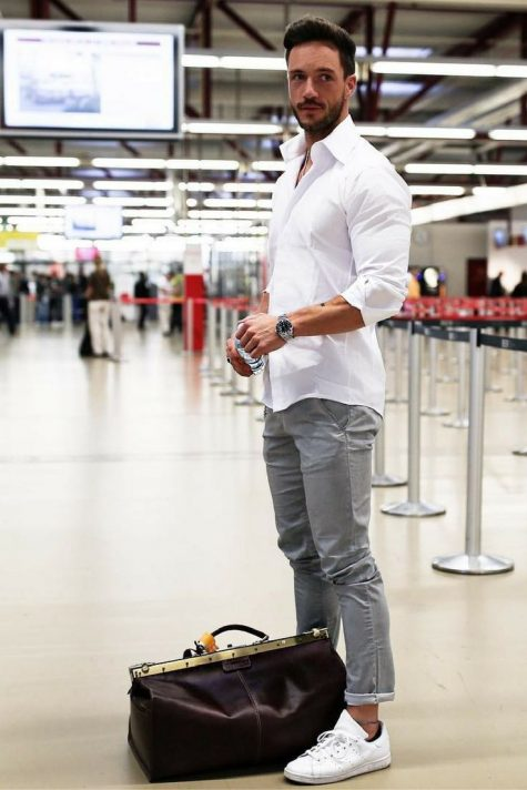 phong cách thời trang sân bay elle man 4