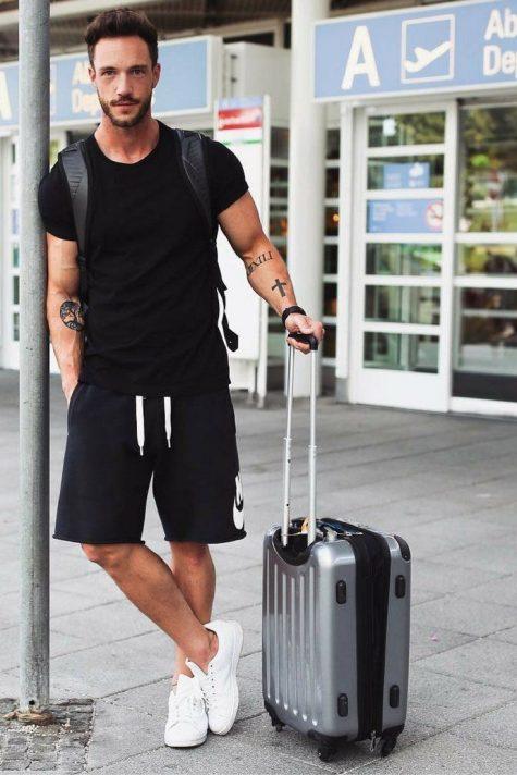 phong cách thời trang sân bay elle man 8