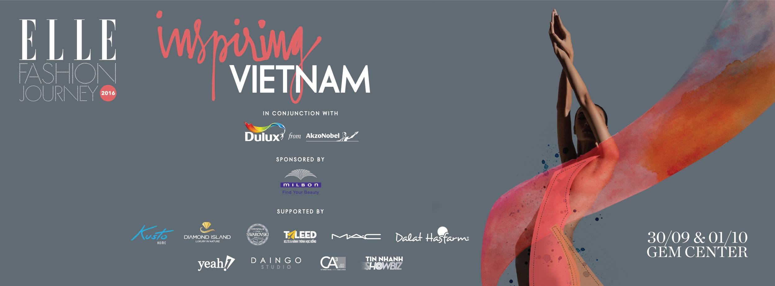 ELLE Fashion Journey 2016. Ảnh: ELLE Việt Nam