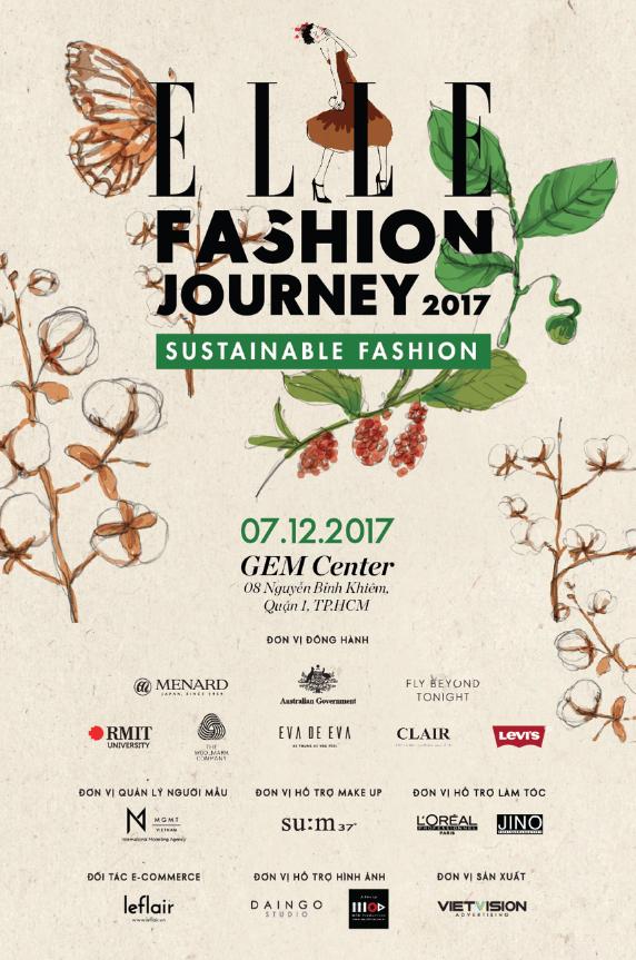 ELLE Fashion Journey 2017. Ảnh: ELLE Việt Nam
