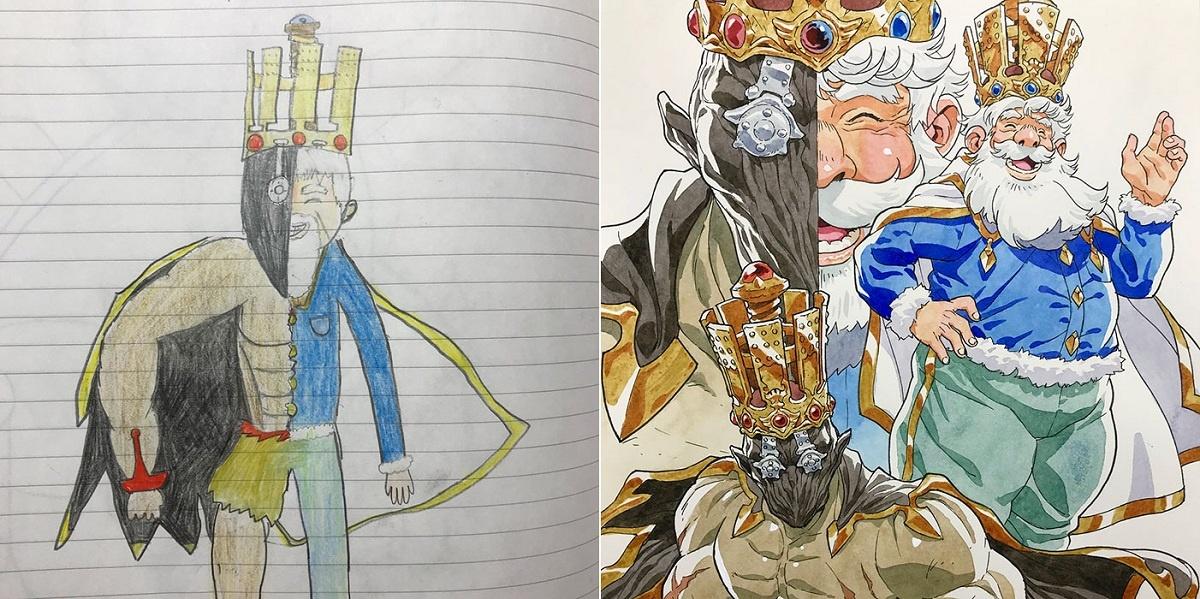Ông vua hai mặt tượng trưng cho cả ác và thiện. Ảnh: Thomas Romain