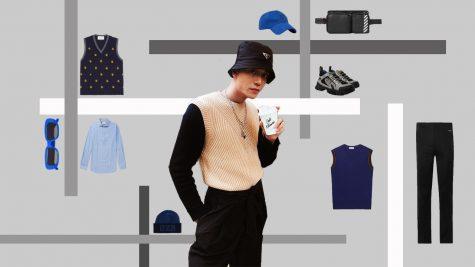 """ELLE Man Style Calendar: Diện áo len không tay sao cho không """"quá tuổi"""""""