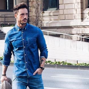 Những điều cần nhớ trong phong cách khi tậu áo denim nam
