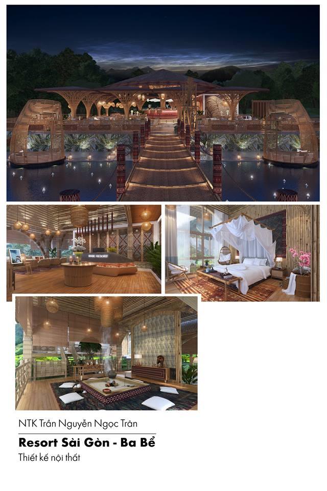Trần Nguyên Ngọc Trân  Resort Sài Gòn - Ba Bể  - Trần Nguyên Ngọc Trân - Đại học Hoa Sen