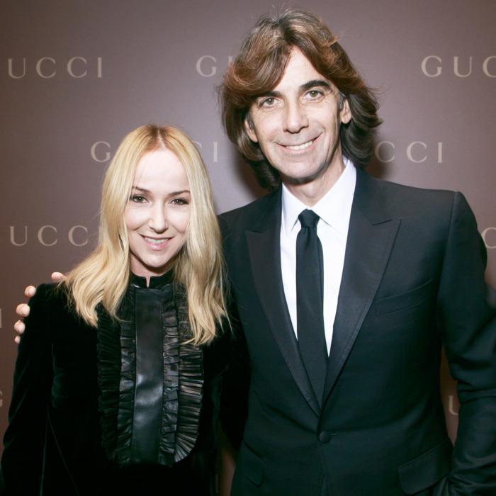 Frida Giannini và giám đốc điều hành Patrizio di Marco bị sa thải khỏi Gucci vào năm 2014. Ảnh: The Cut