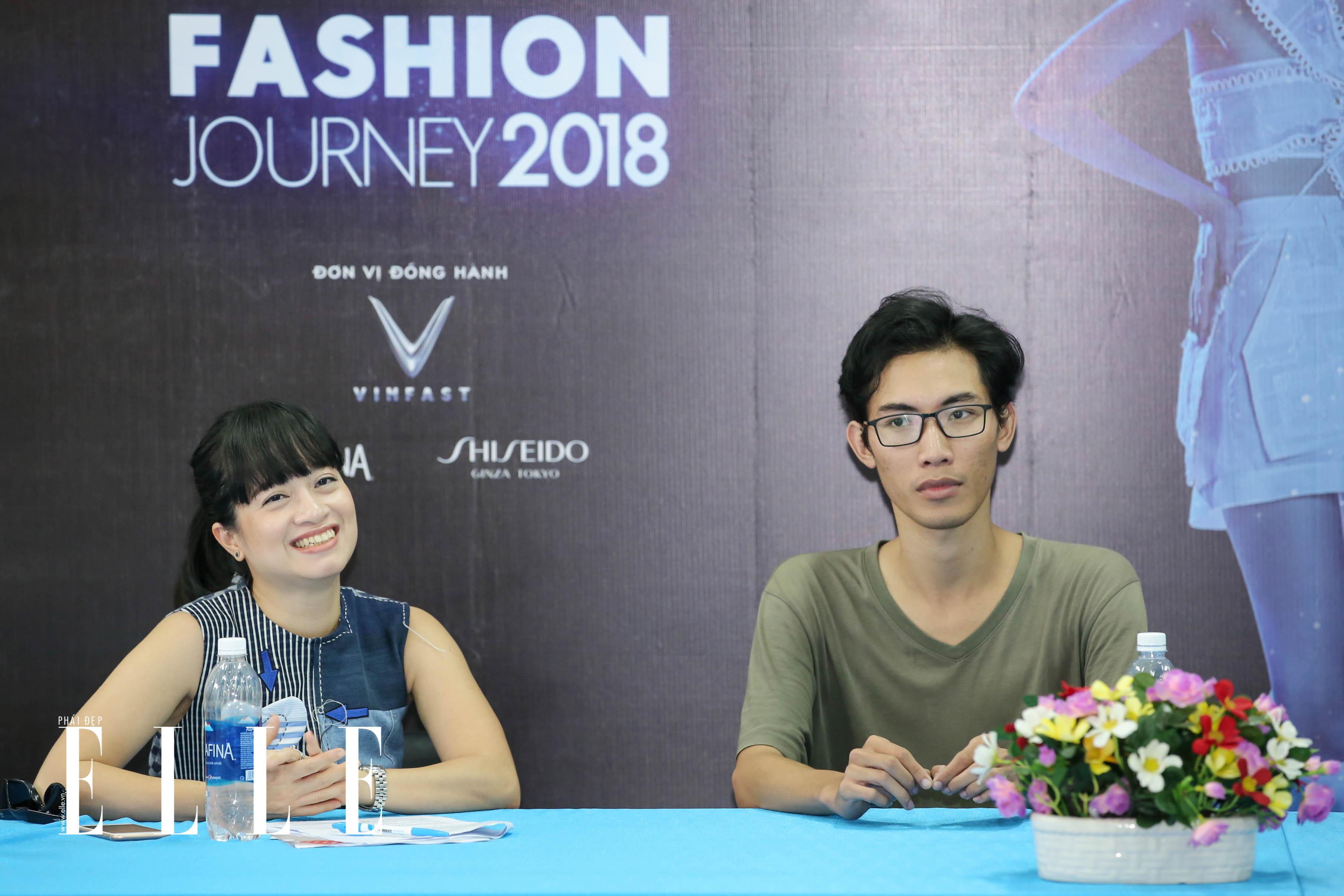 elle fashion road trip 2018 - dai hoc cong nghe sai gon - elle man1