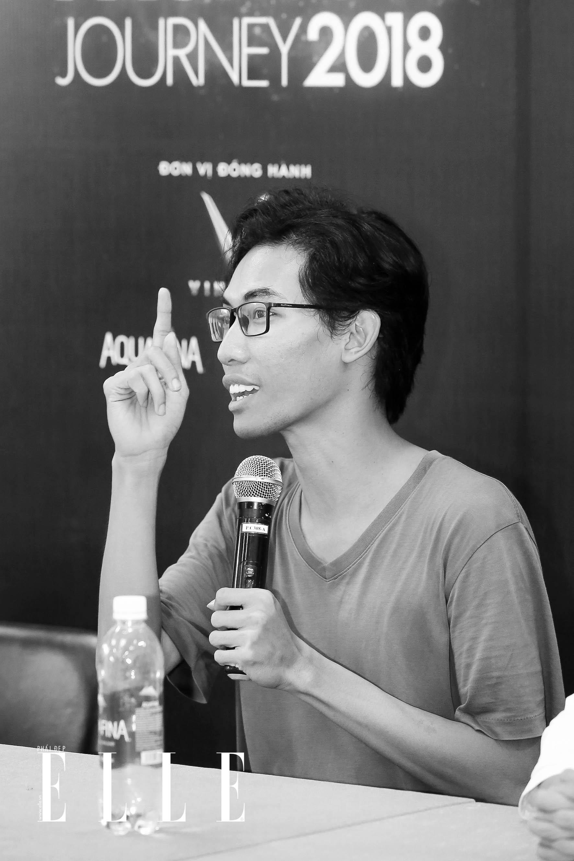elle fashion road trip 2018 - dai hoc cong nghe sai gon - elle man3