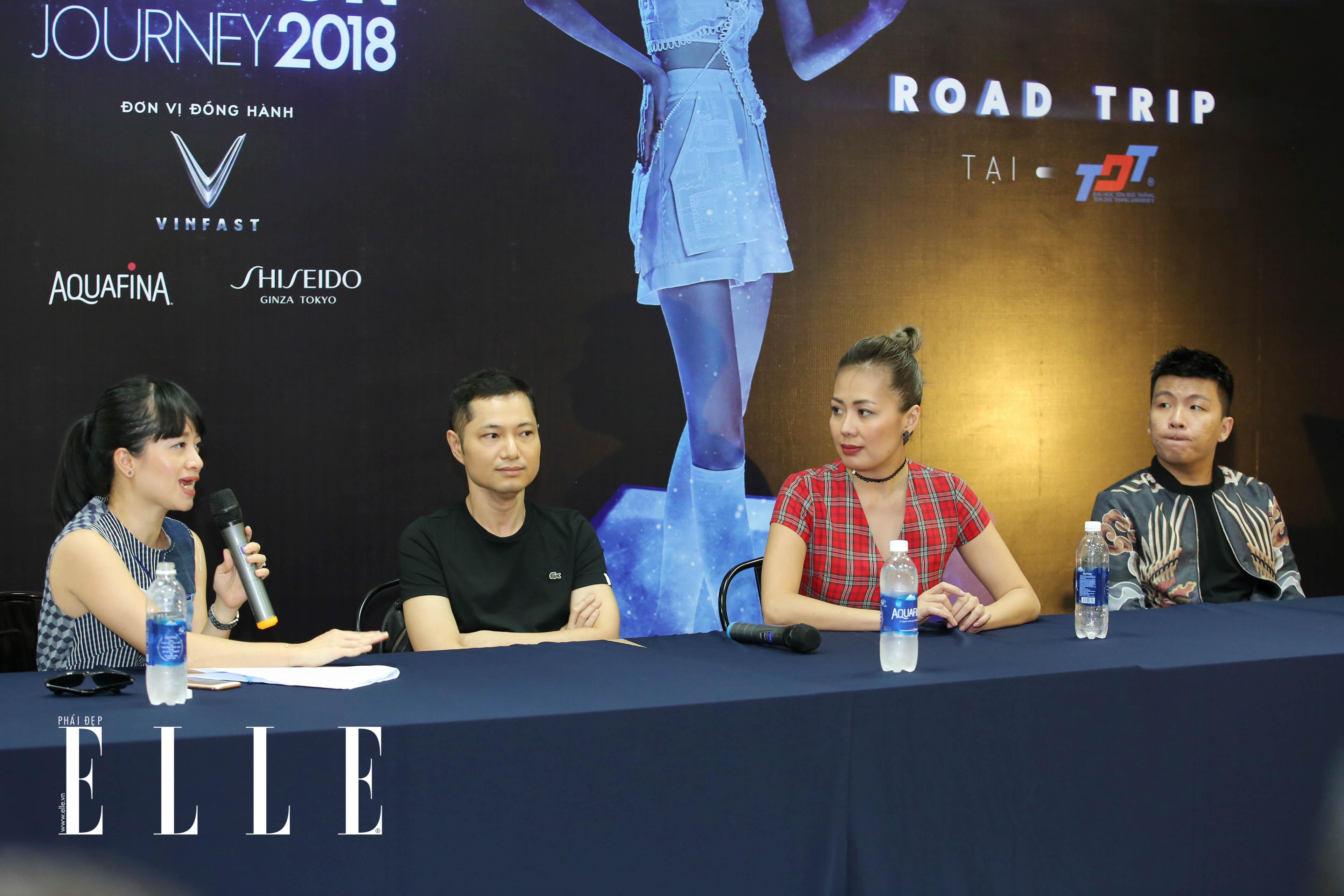elle fashion road trip 2018 - dai hoc ton duc thang - elle man11