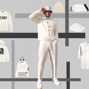 ELLE Man Style Calendar: Phong cách thời trang monochrome cùng tone trắng