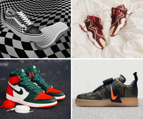 6 thiết kế giày thể thao nổi bật tuần đầu tháng 12/2018