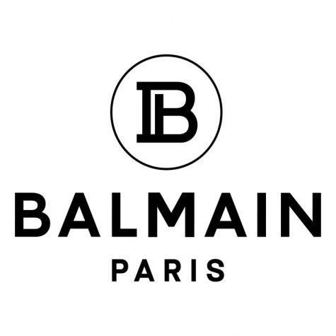 Logo mới của thương hiệu Balmain với hai ký tự B và P lồng ghép vào nhau. Ảnh: Balmain
