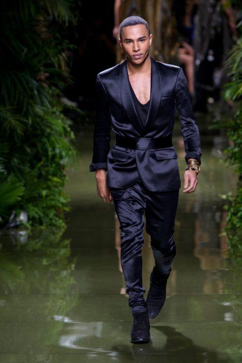 Giám đốc sáng tạo đương nhiệm của Balmain - Olivier Rousteing. Ảnh: Fashionista