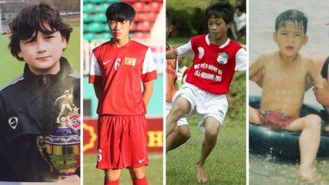 """Ngắm nhìn lại loạt ảnh """"dậy thì thành công"""" của dàn cầu thủ bóng đá Việt"""