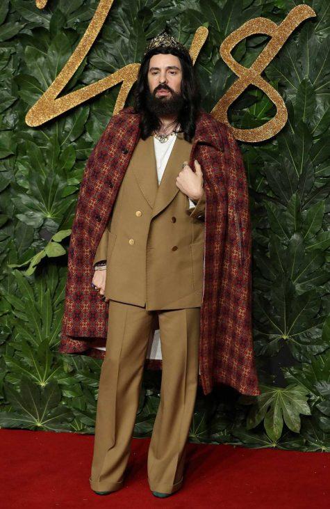Giám đốc sáng tạo của Gucci - Alessandro Michel nổi bật với hình ảnh quý ông hoài cổ. Ảnh: Vogue