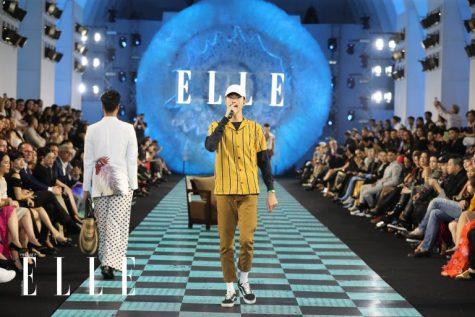 Đen xuất hiện với tư cách là ca sĩ khách mời của thương hiệu Fashion4freedom. Ảnh: Daingo Studio