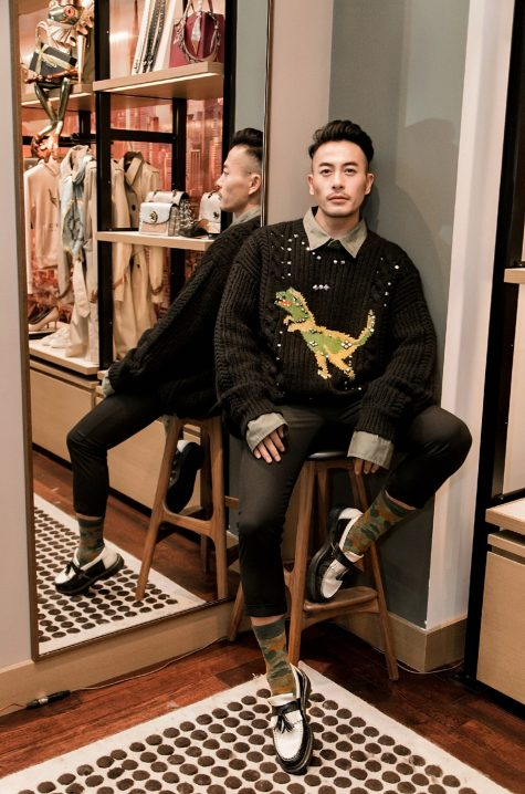 Thí sinh The Face 2018 Trương Thanh Long lần thứ 2 góp mặt trong danh sách thời trang sao nam nổi bật hằng tuần của ELLE Man. Ảnh: Facebook Trương Thanh Long