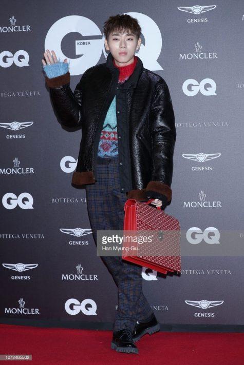 Zico lần đầu góp mặt trong bảng xếp hạng thời trang sao nam tuần 2 tháng 12/2018. Ảnh: Getty Images