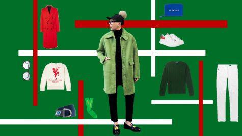 ELLE Man Style Calendar: Gợi ý cách phối đồ mang tinh thần Giáng Sinh