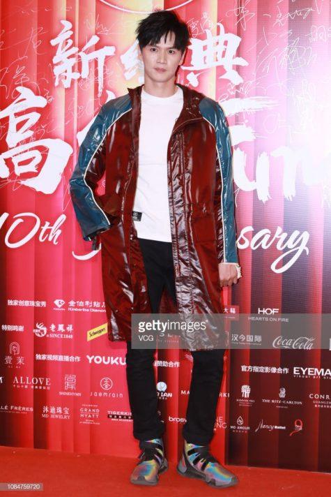 Bào Xuân Lai lần đầu tiên góp mặt trong top thời trang sao nam nổi bật của ELLE Man. Ảnh: Getty Images