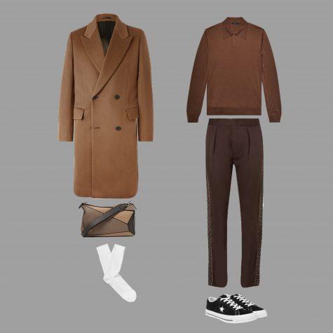 áo khoác elle man set 2