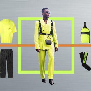 ELLE Man Style Calendar: Sôi động đầu năm 2019 với màu neon