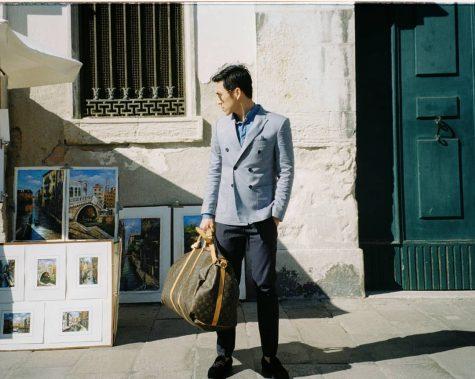 Top sao nam mặc đẹp của ELLE Man gọi tên anh chàng photographer thích những ý niệm hoài cổ.
