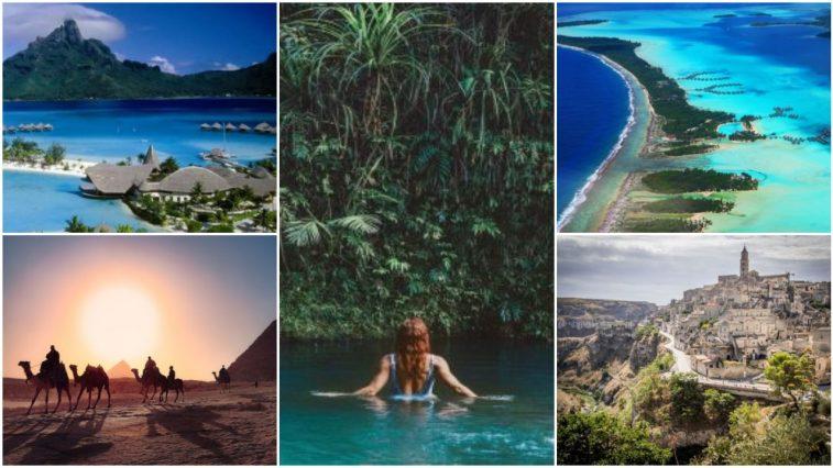9 địa điểm du lịch mang vẻ đẹp của thiên đường