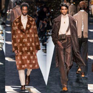 """BST thời trang nam Fendi Thu-Đông 2019: Cú """"bắt tay"""" đẳng cấp của nhà thiết kế Karl Lagerfeld"""