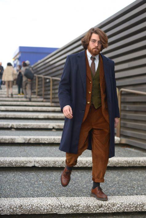 Tin tức thời trang đáng chú ý tiếp theo trong nửa đầu tháng 1 chính là hội chợ Pitti Uomo 2019 vừa kết thúc hôm 11/1. Ảnh: Vogue