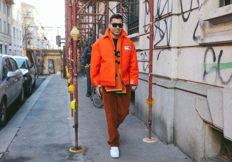 So với London, tuần lễ thời trang Milan thật sự sinh động từ máu ắc đến cách phối đồ. Ảnh: VOgue