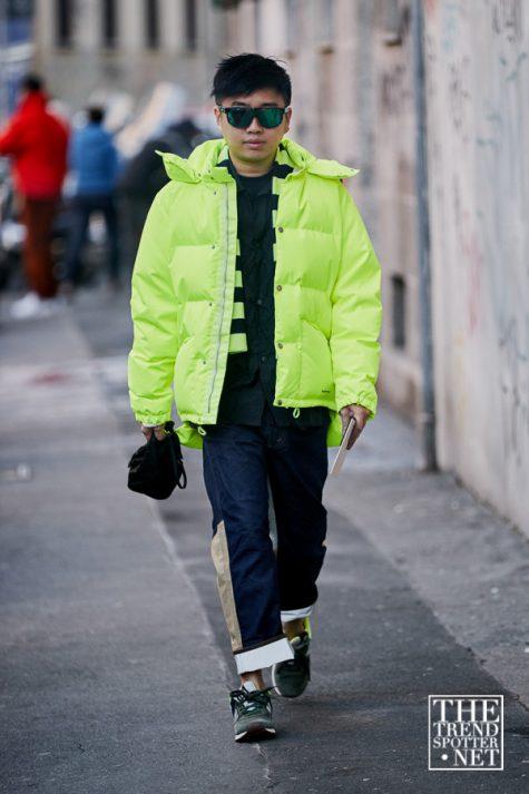 Màu neon cũng xuất hiện tại Tuần lễ thời trang Milan với tần suất ít hơn. Ảnh: The Trend Spotter