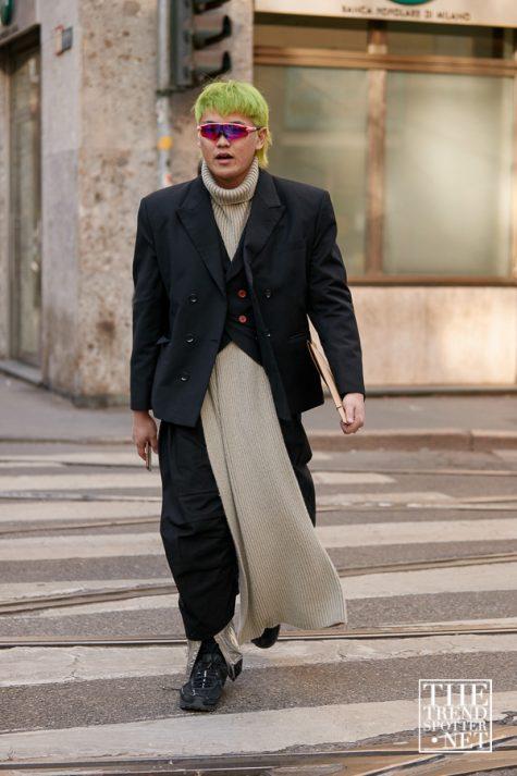 Những chiếc kính màu sắc hiện đại cũng xuất hiện tại tuần lễ thời trang Milan 2019. Ảnh: The Trend Spotter