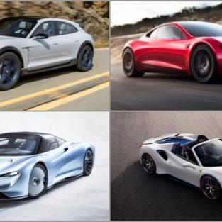 """10 xe hơi hạng sang sẽ """"khuấy đảo"""" các tuyến đường năm 2019"""