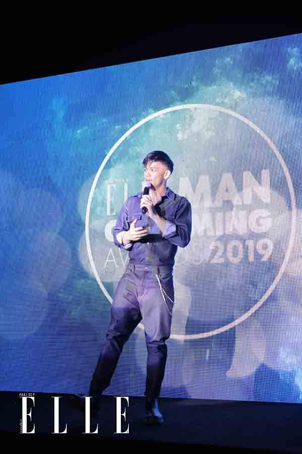 Trong hieu - elle beauty awards 2019 - elle man grooming awards 2019 (4)