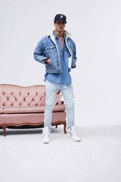 phoi quan jean xanh nhat ELLE9