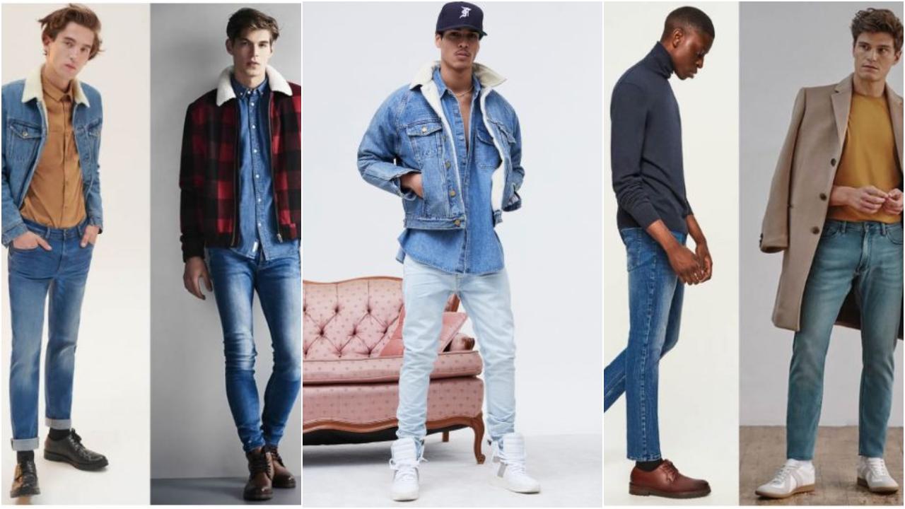 5 cảm hứng phối quần jeans xanh nhạt đầy phong cách I ELLE Man Việt Nam
