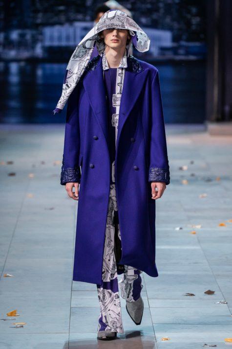 Bộ sưu tập Louis Vuitton nam 2019 là một cuộc nâng tầm và kiểu dáng và tạo tiền để cho tương lai thời trang phi giới tính. Ảnh: Vogue