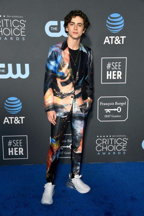 Timothée Chalamet xếp vị trí thứ 2 tỏng top thời trang sao nam ấn tượng. Ảnh: Vogue