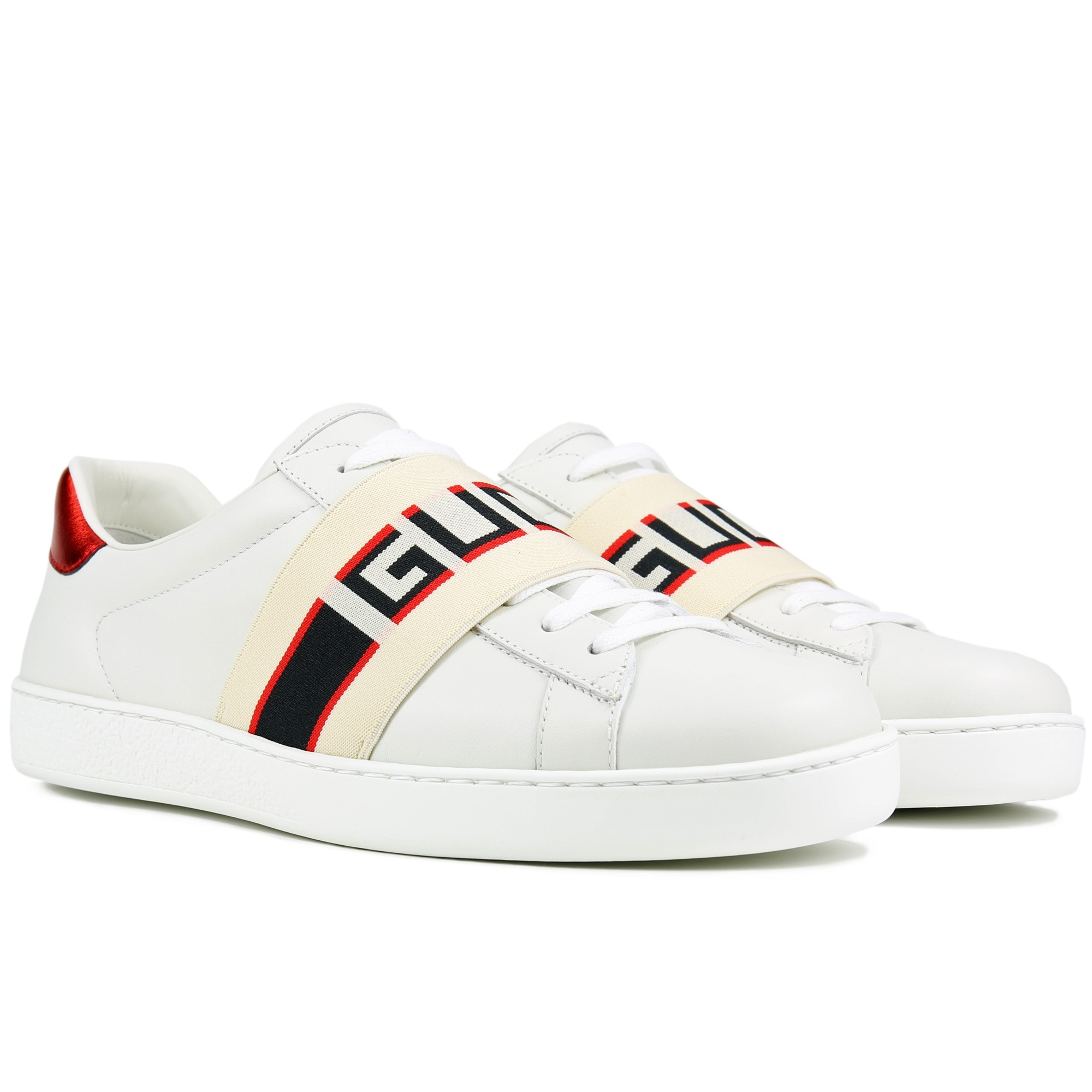 giay the thao tet 2019 - gucci ace sneaker monogram - elle man 3