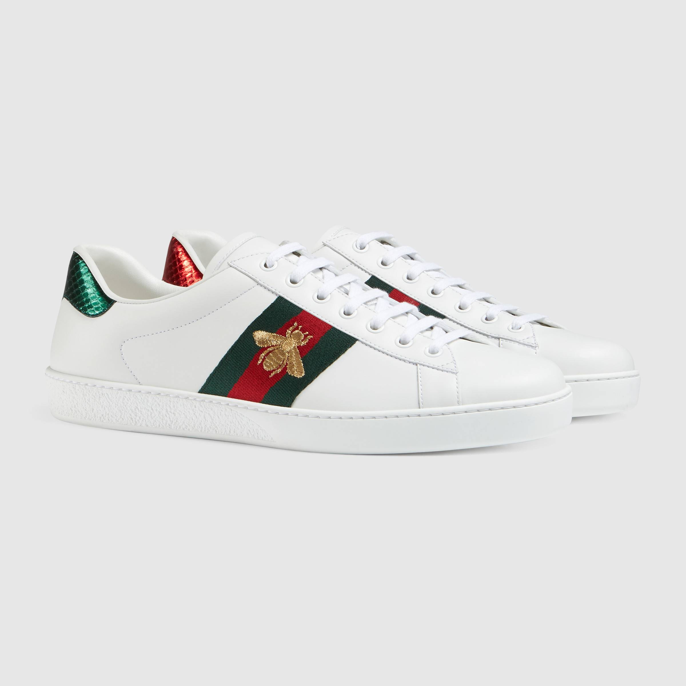 giay the thao tet 2019 - gucci ace sneaker monogram - elle man 7
