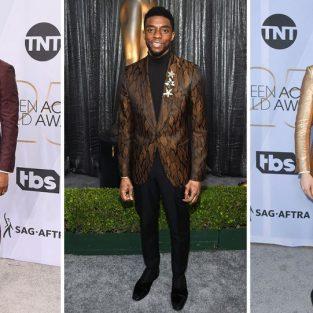 SAG Awards 2019: Bước chân tiên phong trong phong cách thời trang nam