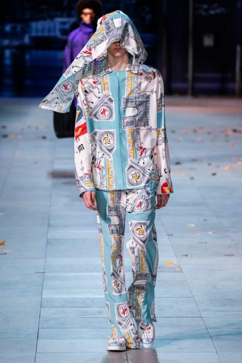 Hay Louis Vuitton dưới thời Virgil Abloh mới mẻ với các thiết kế unisex. Ảnh; Vogue