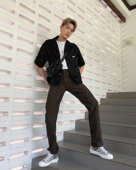 Brian See lần đầu tiên góp mặt trong top thời trang sao nam của ELLE Man. Ảnh: Instagram @mrbriansee