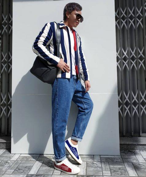 Mạch Huy thổi làn gió mới vào bảng xếp hạng thời trang sao nam trong lần đầu tiên góp mặt. ẢnH: Instagram @machdathuy