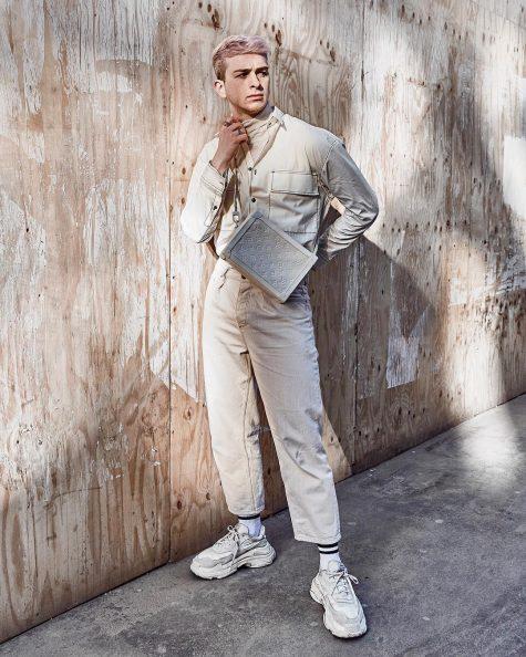 Joel Gallucks quay trở lại bảng xếp hạng thời trang sao nam sau nhiều tuần liên tục vắng bóng. Ảnh: Instagram @gallucks