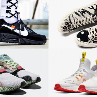 6 thiết kế giày thể thao ấn tượng đầu tháng 2/2019